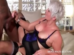 hot cougar blowing biggest dark shaft