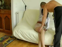 tania analfucked in nylons
