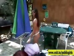 nudist summer party with lascivious next door gals