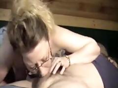 pounder loving wife gives amazing deep face gap