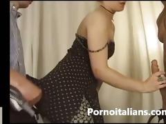 orgia italiana con mother i bionda - bang italian
