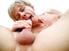 granny gets supple