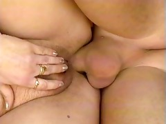 horny mature housewife receives part8