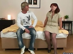 he is is picking up and banging old slut
