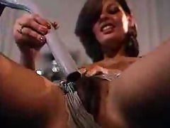 unshaved mother i mama masturbates solo on the bed