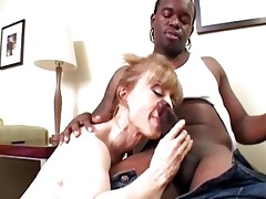 chic blond mother i slurps on raging dark boner