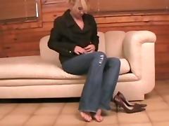 mother i golden-haired self toe engulfing