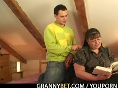 chubby lady receives pounded by lascivious lad