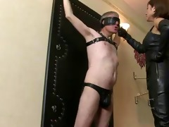ella kross:slapping my slaves face!