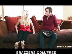 lonley blond wife britney amber copulates her