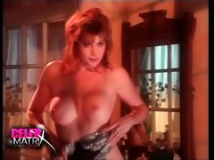 lisa comshaw removing her robe to disclose some