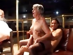 grannies enjoying dudes afresh