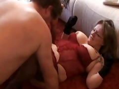 fat and breasty dilettante wife sucks and bonks