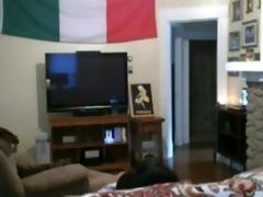 hidden livecam caught italian cheating wife bonks