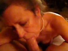 aged wife leslie gives extremely pleasureable