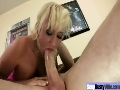 hot breasty wife love a large pecker to ride