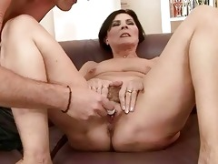 horny granny getting screwed pretty hard