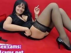 sexiest milf on earth masturbating on webcam