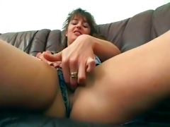 excited brunette hair voids urine and copulates