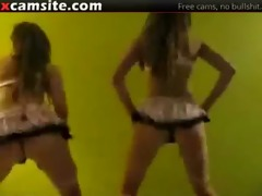 insane dance and a-hole shaking on web camera