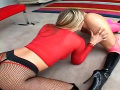 strapon lesbo nubiles exploring recent pleasures