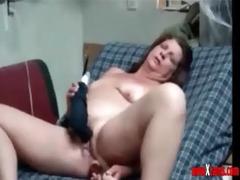 super stolen clip of my mum having pleasure on