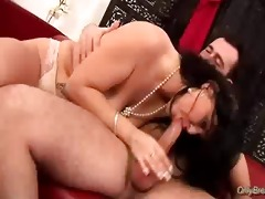 large mounds chick does fellatio hard