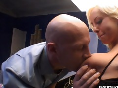busty secretary bonks a co-worker