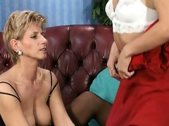 wicked and aged lesbian babes go insane
