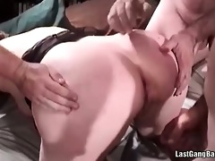 asian older floozy gang group sex oral-job