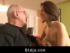 juvenile lascivious girl acquires laid with an