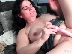 wicked older vibrating her love button