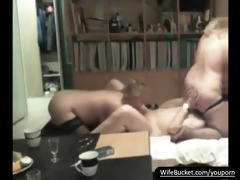 dilettante pair in a 1some with a mmf ally