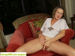 cougar misty law fingers mature wet crack