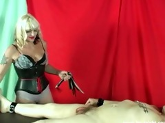 female-dom kelly sadistic cbt and wang and balls