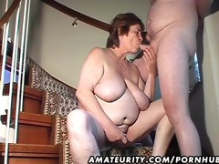 fat dilettante wife toys and sucks and receives