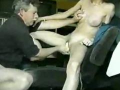 garage car seat fucking
