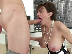 aged stocking brit sonia suck and oral pleasure
