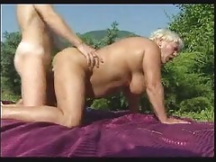 granny receives pounded