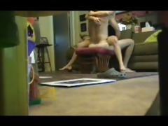 hot blond wife shows off talent