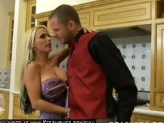 holly halston resolves to have the waiter serve