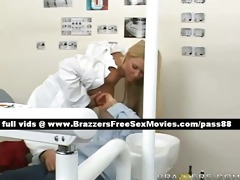 lovely blond dentist