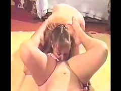 our wives st time having lesbo sex.