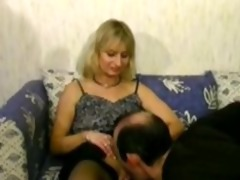 golden-haired aged cheats on her husband