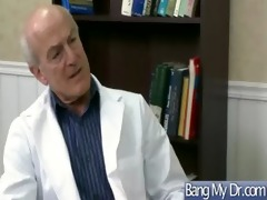 hawt sex adventure in doctor office with excited