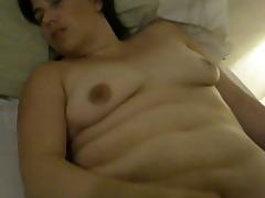 holly haris masturbates to big o