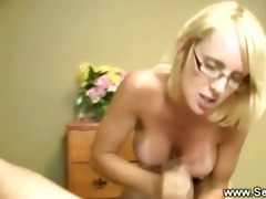 blond mother i with merry love bubbles badly