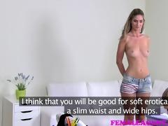 femaleagent pretty woman loses her lesbo virginity