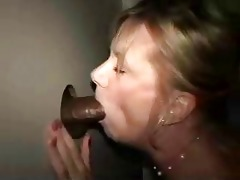 gloryhole non-professional wife