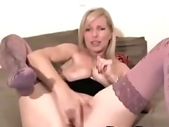 golden-haired d like to fuck fuck 11 dildos in